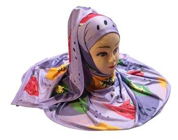 Justkartit Women's Multi Color Casual Wear Jersey Stretchable Material Printed Hijab Scarf Dupatta