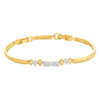 Silver diamond bracelets