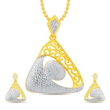 White pearl pendants