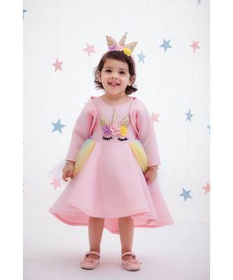 Peach Unicorn Dress