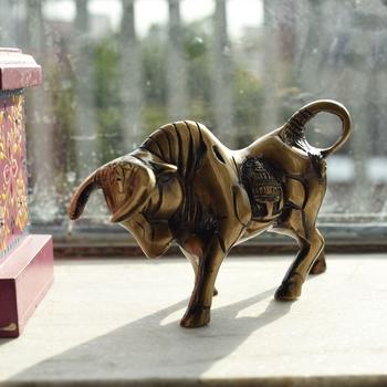 Brass Kamdhenu Cow Sculpture