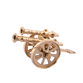 Brass Decorative Canon Showpiece