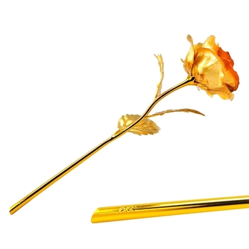 24K Gold Rose with Gift Box and Carry Bag