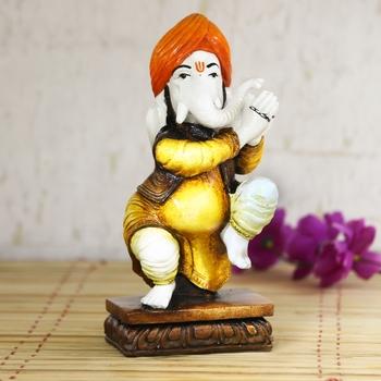 Lord Ganesha welcome Decorative Showpiece