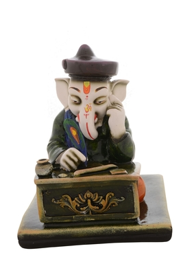 Premium Figurine of Munim Lord Ganesha