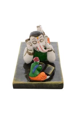 Premium Figurine of Lord Ganesha in Listening Mode