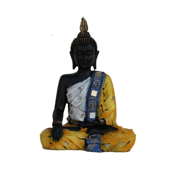 Handcrafted Meditating Buddha Figurine