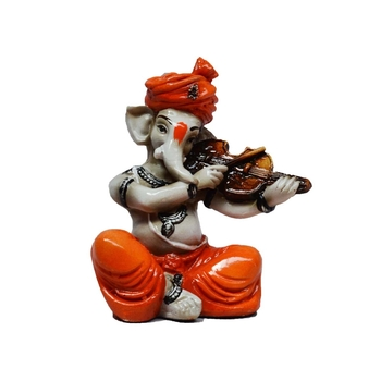 Lord Ganesha playing Violin