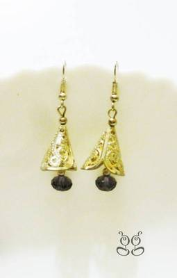 Silver bell shaped Earrings