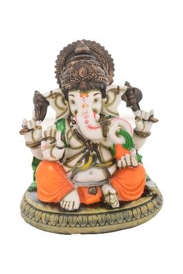 Premium Figurine of Blessing Lord Ganesha