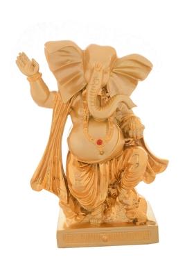 Premium Figurine of Lord Ganesha in Dancing Position