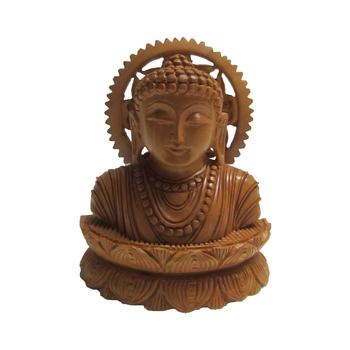 Lord Buddha Head in Meditation