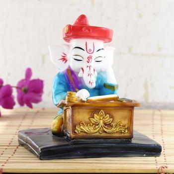 Lord Ganesha Thinking About Something Decorative Spiritual showpiece