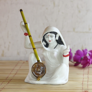 Meerabai playing Musical Instrument Showpiece
