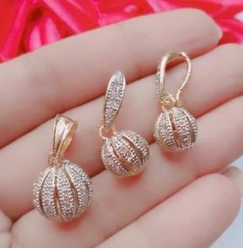Silver Diamond Pendants