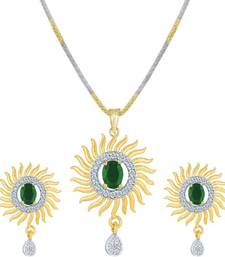 Green pendants