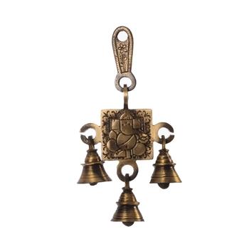 Lord Ganesha Brass Hanging Bells