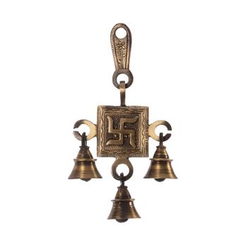 Swastik Brass Hanging Bells