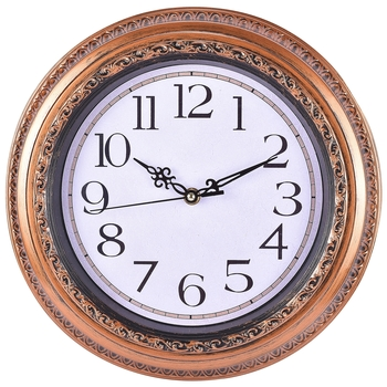 Decorative Analog Beige Wall Clock