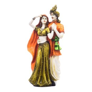 Handicraft Showpiece Home Decor Rajasthani Man and Women Statue Decorative Gift