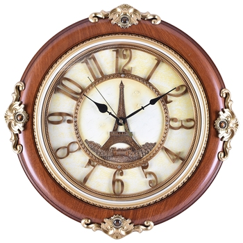 Brown Premium Designer Wall Clock( 47 cm X 47 cm)