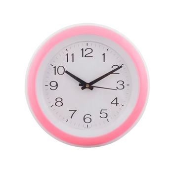 Decorative Retro Round Pink Wall Clock