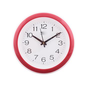 Decorative Retro Round Red Wall Clock