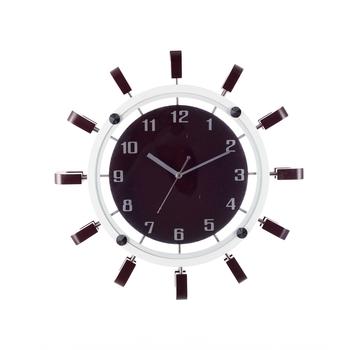 Decorative Analog Black Round Wall Clock