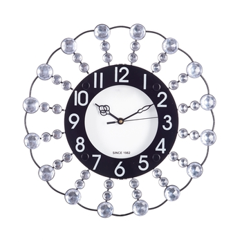 Decorative Analog Black Round Wall Clock
