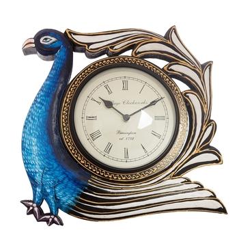 Bird Shape Vintage Wooden Handcrafted Wall Clock