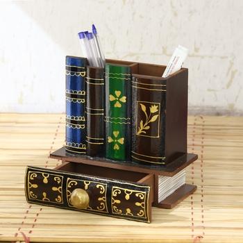 Decorative Handcrafted Multiutility Pen Holder Box