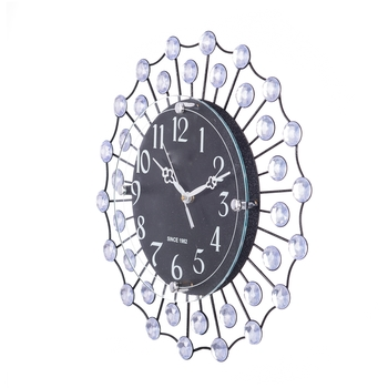 Decorative Analog Black Diamond Series Wall Clock