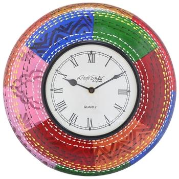Decorative Analog Multicolour Wall Clock