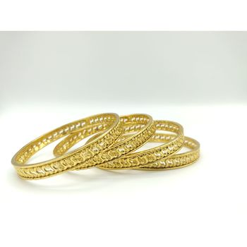 Golden bangles