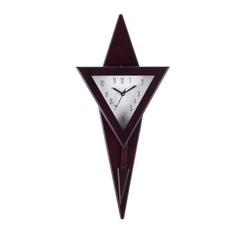 Decorative Analog Black Triangle Pendulum Wall clock