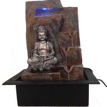 Rust Texture Lord BuddhaWater Fountain