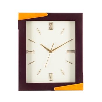 Premium Decorative Analog Brown Rectangle Wooden Wall Clock
