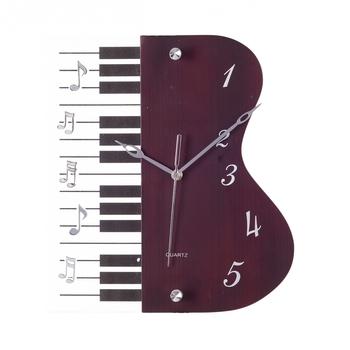 Premium Decorative Analog Brown Contemporary Wooden Wall Clock
