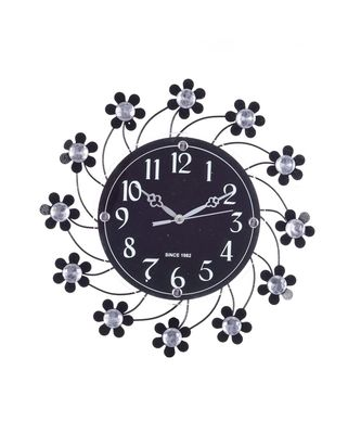 Decorative Analog Black Diamond Series Wall Clock