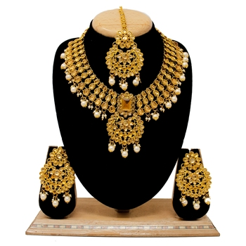 Bronze necklace-sets