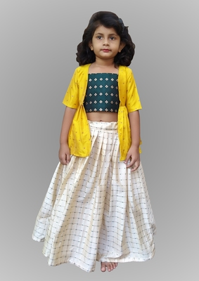Girl Multicolour Lahenga Choli