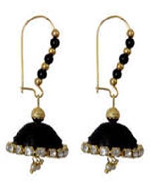 Black earrings