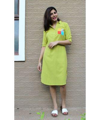 Green Cotton Gilli Dress