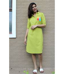 Green Cotton Gilli Dress