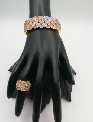 Stylish And Fancy Bracelet And Ring Combo