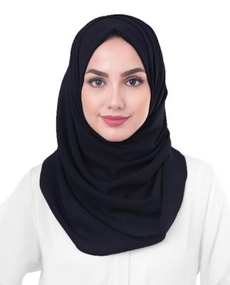 Justkartit Women's Daily Wear Georgette Scarf Hijab Dupatta