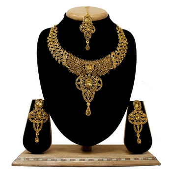 Bronze necklace-sets