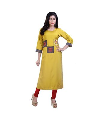 embroidered Kurta For Women