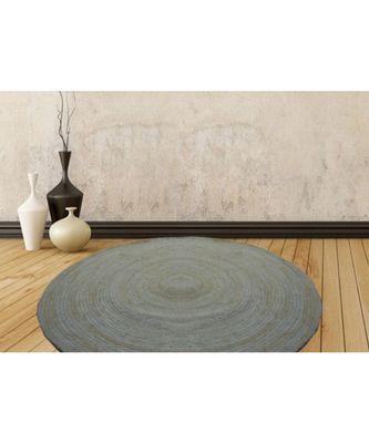 cream plain jute rugs Large Round