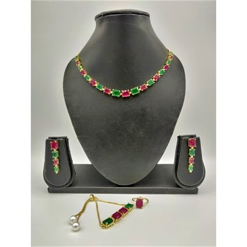 Multicolor stone jewellery combo